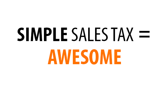 Simple Sales Tax is Awesome